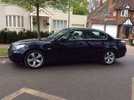 BMW 5 SERIES 2006 MODEL 4 DOOR SALLON AUTOMATIC DIESEL GREAT SPEC DRIVES GREAT !!