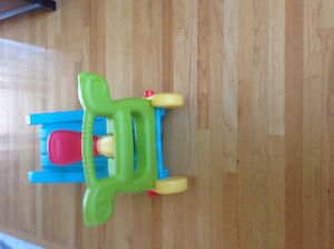 Who doesn't want a slide in house?2in1 Fisher Price Slide/Rocker Strathcona County Edmonton Area image 4