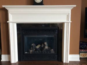 Fireplace Mantel with Surround
