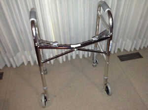 2 Fold Up Wheeled Walkers Edmonton Edmonton Area image 4