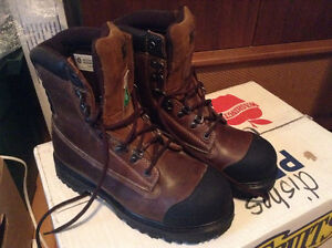"""DAKOTA Men's 529 8"""" STSP Injected Welt Boot, size 8"""