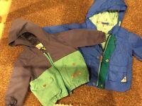 2 x Baby Boy coats - Next & Ted Baker