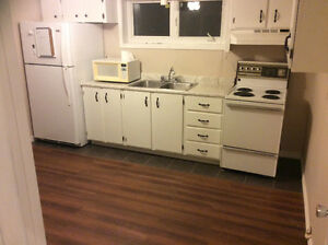 East End basement apartment-Internet & hot water included.