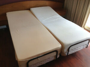 Queen size adjustable bed with headboard now $1500!