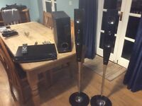 LG CD/DVD and TV speakers