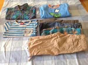 Lot de vêtement 4 ans pour garçon (7 morceaux)