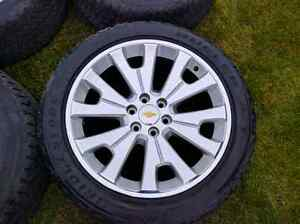 """22"""" Chevy/GM  accessory rims and tires"""