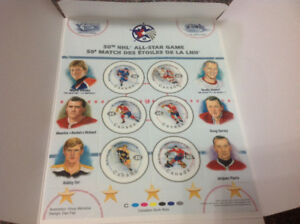 50th NHL ALL STAR  GAME STAMPS