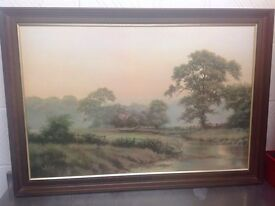 Painting of a country scene