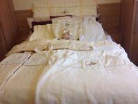 MAMA & PAPA LEMON COT BED BEDDING PLUS EXTRAS