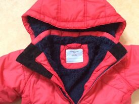 Polarn O. Pyret red coat 1.5 - 2 years