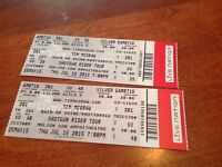 Tim McGraw with Billy Currington & Chase Bryant July 16 Toronto