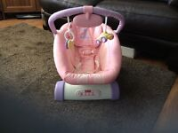 Fisher Price Cruisin Motion Soother in Pink
