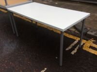 Five Ikea rectangular tables