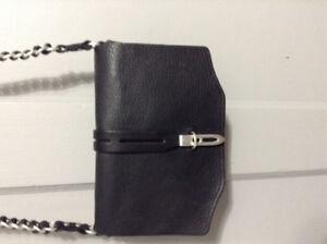 Rag & Bone  Black Pebbled Crossbody bag from New York