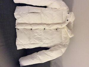 Manteau d'hiver blanc comme Neuf