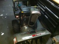 "Craftsman 10.5 HP 27"" two stage snowblower"