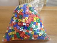 Size cubes and scarf clips