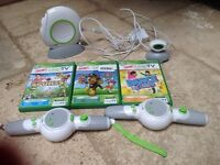 Leapfrog LeapTV with extra controller and 3 games