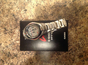 Brand new Casio G-shock MT-G solar watch