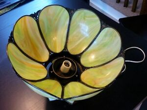 Beautiful Stained Glass Ceiling Light. Kitchener / Waterloo Kitchener Area image 6