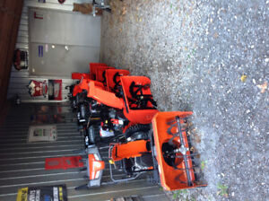 New Husqvarna and Ariens Snowblowers on Sale Now