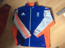 Adidas England Cricket Mens Fleece Training Top - Size XXL - Excellent Condition