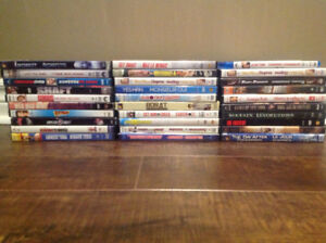 30 DVD's for $20