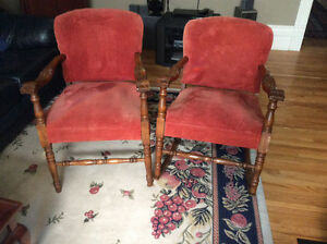 Antique chairs in great shape CALL TODAY!