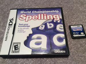 Nintendo DS - World Championship Spelling Kitchener / Waterloo Kitchener Area image 1