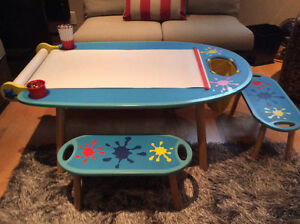 Children's Deluxe Table and Chairs Set