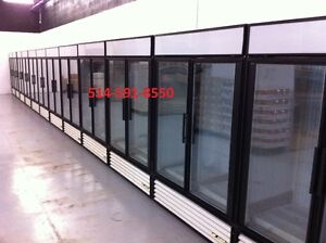TRUE Congelateurs Freezer Commercial 2 portes Vitree Glass Doors
