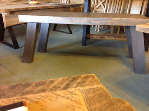 Reclaimed Wood Desk or Small Table
