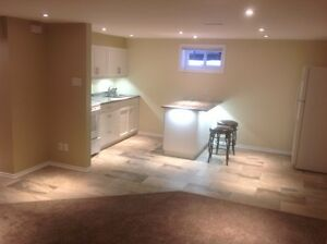 2 bed rm basement apartment