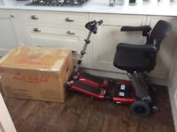 LUGGIE ELITE MOBILITY SCOOTER, IMMACULATE AS NEW CONDITION, FREE DELIVERY