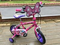 Minnie Mouse childs Bike in vgc