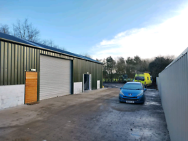 Commercial UNIT FOR RENT IN ANTRIM, garage, storage secure yard