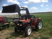 Yanmar tractor with loader