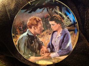 """4 """"Gone With The Wind"""" collector plates Peterborough Peterborough Area image 5"""