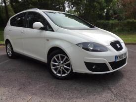 Seat Altea XL 1.6TDI CR ( 105ps ) Ecomotive Cheap 5 Door Family Car £30 Tax