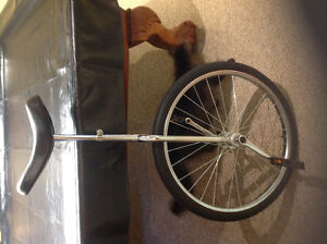 Chrome Unicycle for sale