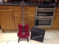Epiphone SG Special with 20Watt Amplifier