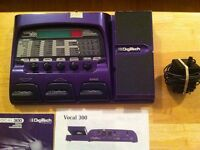 Digitech 300 vocal effects processor