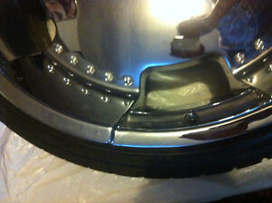 these are 24 rims Kitchener / Waterloo Kitchener Area image 2