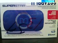 Monster® SUPERSTAR High-Powered Portable Wireless Speaker