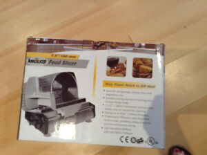 Food Slicer - New - Still in the box