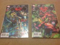 SUPERMAN V BATMAN COMICS