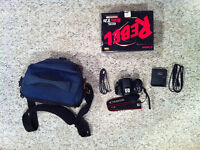 Canon Rebel t2i (550D) body with SD Card and Carrying Case