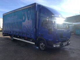 2004 iveco euro cargo 75e16 6 cylinder 23 ft curtain sider with tail lift 1 owner from new