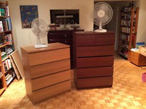 Meubles à tiroirs (Ikea)